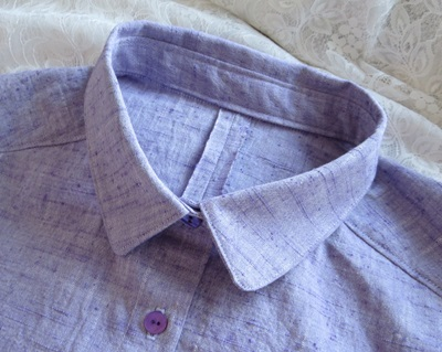ラベンダーシャツ1