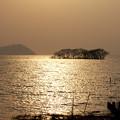 夕刻の湖北