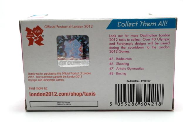 CORGI_Destination London 2012 Badminton #5_002