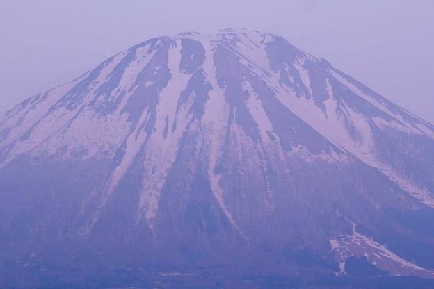春宵の伯耆富士