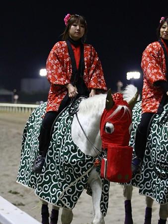 川崎競馬の誘導馬01月開催 獅子舞 赤半纏Ver-120101-10