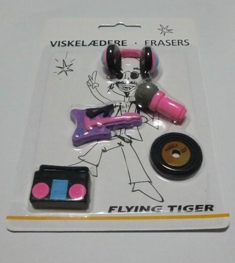 Flying Tiger Copenhagen 音楽消しゴム