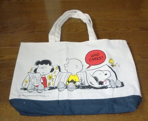 SNOOPY×CIAOPANIC TYPY リバーシプルキャンパストートバッグ