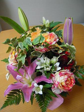 バースデ―プレゼント・お花