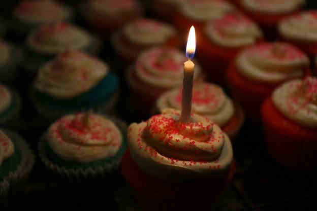 Happy Sweet 16!…Birthday Cup Cake♪