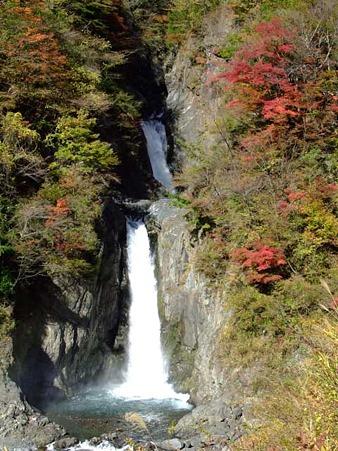 葵区梅ヶ島 赤水の滝