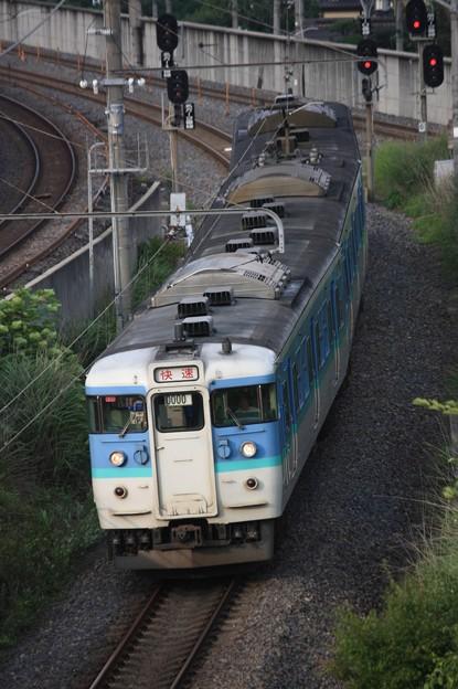 115系1000番台ナノN32編成 快速みすず飯田行き