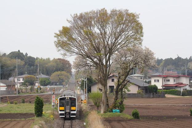キハE132形キハE132-12 普通常陸太田行き