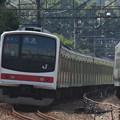 205系ケヨ1編成 配給輸送