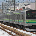 205系クラH25編成 快速桜木町行き