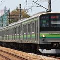 205系クラH28編成 快速桜木町行き