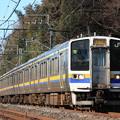 211系3000番台マリ503編成 普通銚子行き