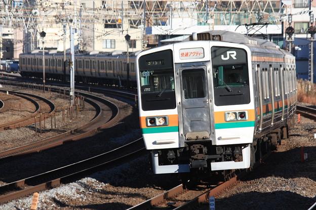 Photos: 211系2000番台チタN32編成 快速アクティー小田原行き