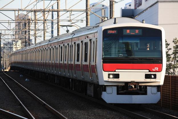 E331系ケヨAK1編成 各駅停車東京行き