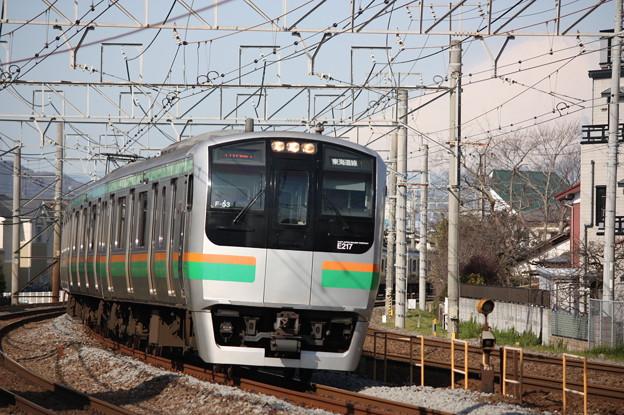 Photos: E217系コツF-53編成 普通東京行き