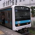 Photos: 209系ウラ33編成 各駅停車磯子行き