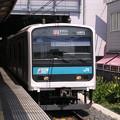 209系ウラ71編成 快速東神奈川行き