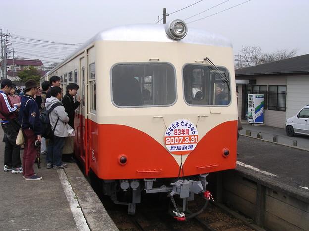 鹿島鉄道キハ430形キハ432 普通石岡行き