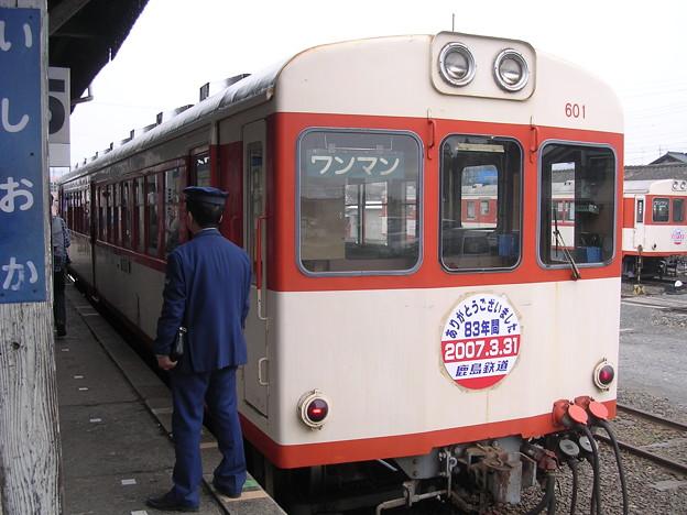 鹿島鉄道キハ600形キハ601 普通石岡行き
