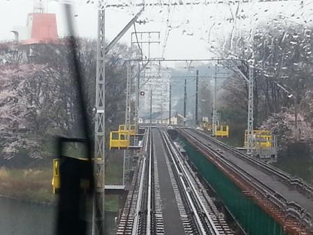 20150329_134500 東岡崎いきふつう - 菅生川鉄橋