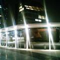 写真: 豊洲駅新バスターミナル。