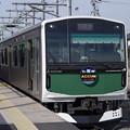 Photos: 烏山駅で充電を行うEV-E301系