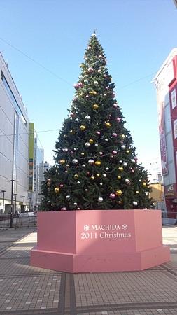 いつものクリスマスツリー