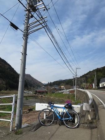 富士山が見えた。道志みち