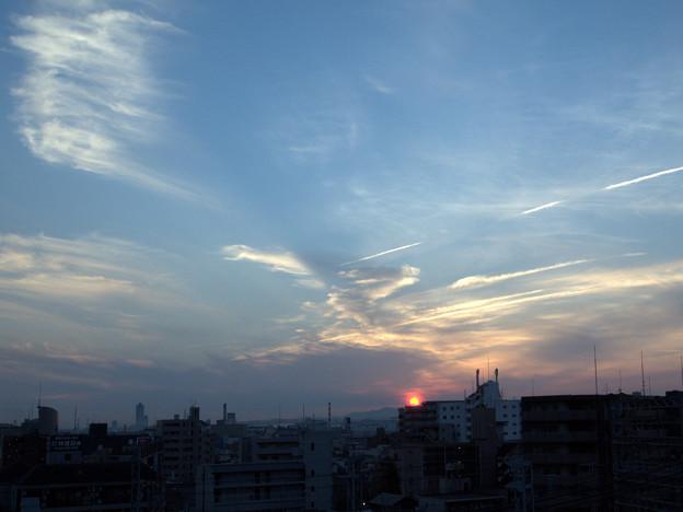 Photos: 日暮れ前の空