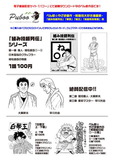 電子書籍漫画のチラシ05_A3