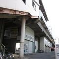 写真: 旭川四条駅入口