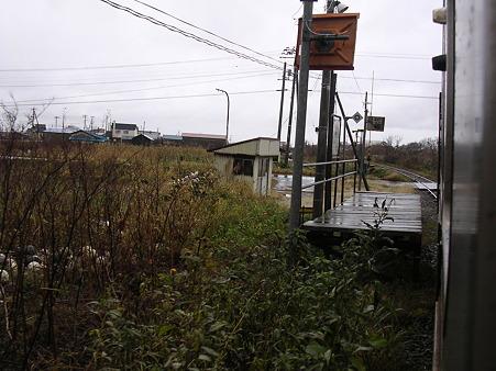 朱文別駅ホーム1