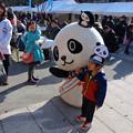 旅まつり名古屋 2015 No - 056:パンダが多くいるのをPRする、和歌山県のキャラ「わかぱん」