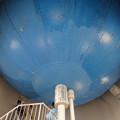 写真: 東山給水塔の一般公開 No - 036:5階天井部にあたる貯水タンク