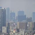 写真: 東山給水塔の一般公開 No - 043:展望階から見た景色(名駅ビル群)