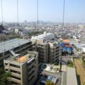 写真: 東山給水塔の一般公開 No - 045:展望階から見た景色