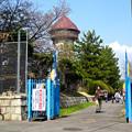 東山給水塔の一般公開 No - 105:東山配水場入口