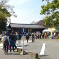 写真: 名古屋城へと向かう人と「駅ちかウォーキング」で賑わう東門 - 1