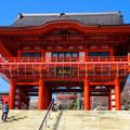 写真: 犬山成田山(2015年3月)No - 03:立派な山門