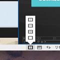 写真: Vivaldi 1.0.142.32:「Tile Tab Stack」で複数ページをまとめて表示可能に! - 2(ステータスバーのボタン)