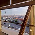 写真: エアポートウォーク名古屋:3階フードコートから見たザ・シーン城北と名駅ビル群 - 1