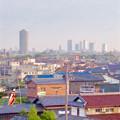 写真: エアポートウォーク名古屋:3階フードコートから見たザ・シーン城北と名駅ビル群 - 2