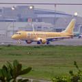 写真: エアフロントオアシス(小牧市):県営名古屋空港から飛び立つ、黄色のFDA機 - 4