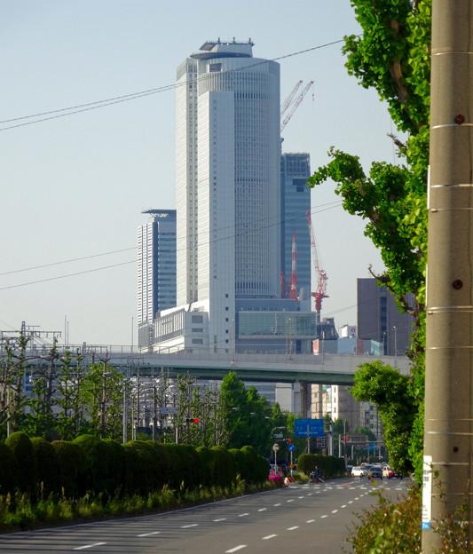 写真: 南側から見たセントラルタワーズ - 1