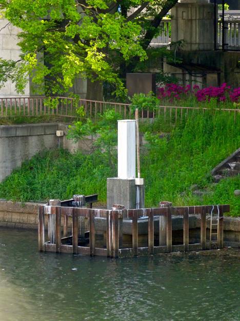 堀川:松重橋から見た松重閘門 - 4