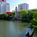 堀川:松重橋から見た松重閘門 - 6