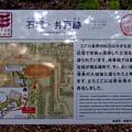 写真: 岐阜公園 No - 13:戦国時代の石垣と井戸跡(説明)