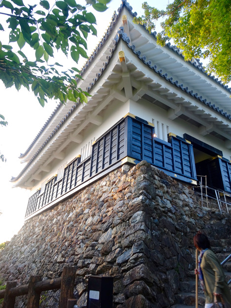 岐阜城 No - 16:真下から見上げた岐阜城