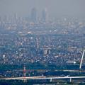 写真: 岐阜城天守閣から見た景色 No - 23:名駅ビル群とツインアーチ138