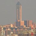 写真: エアポートウォーク名古屋:展望デッキから見た、夕暮れ時の東山スカイタワー - 3